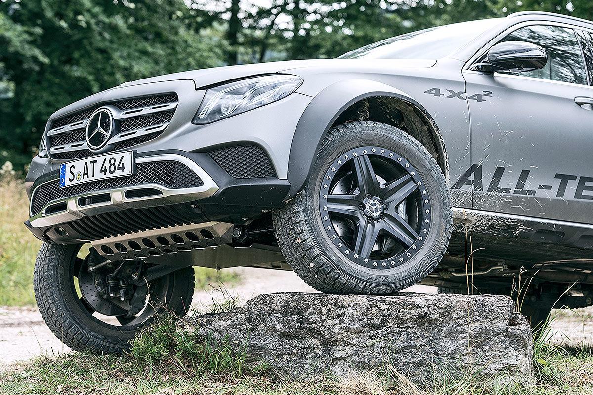 «Зверский универсал для езды по бездорожью»: тест-драйв Mercedes E-Class All-Terrain 4x4 3