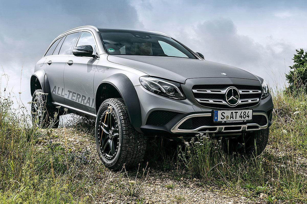 «Зверский универсал для езды по бездорожью»: тест-драйв Mercedes E-Class All-Terrain 4x4 2