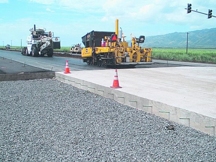 Министр пообещал первую бетонную дорогу в Украине 2