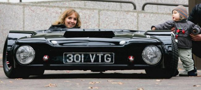 Самый низкий автомобиль в мире 2