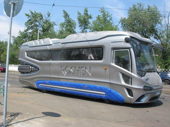 В Украине появился автобус в стиле «Дарта Вейдера» 1