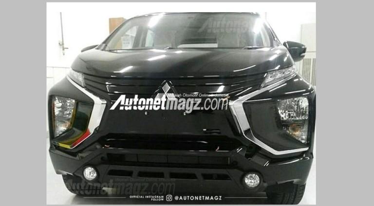 Новый минивэн марки Mitsubishi «засветился» на фото 1