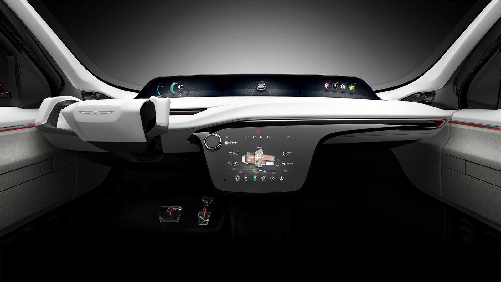 Новый Chrysler будет сам делать селфи 2