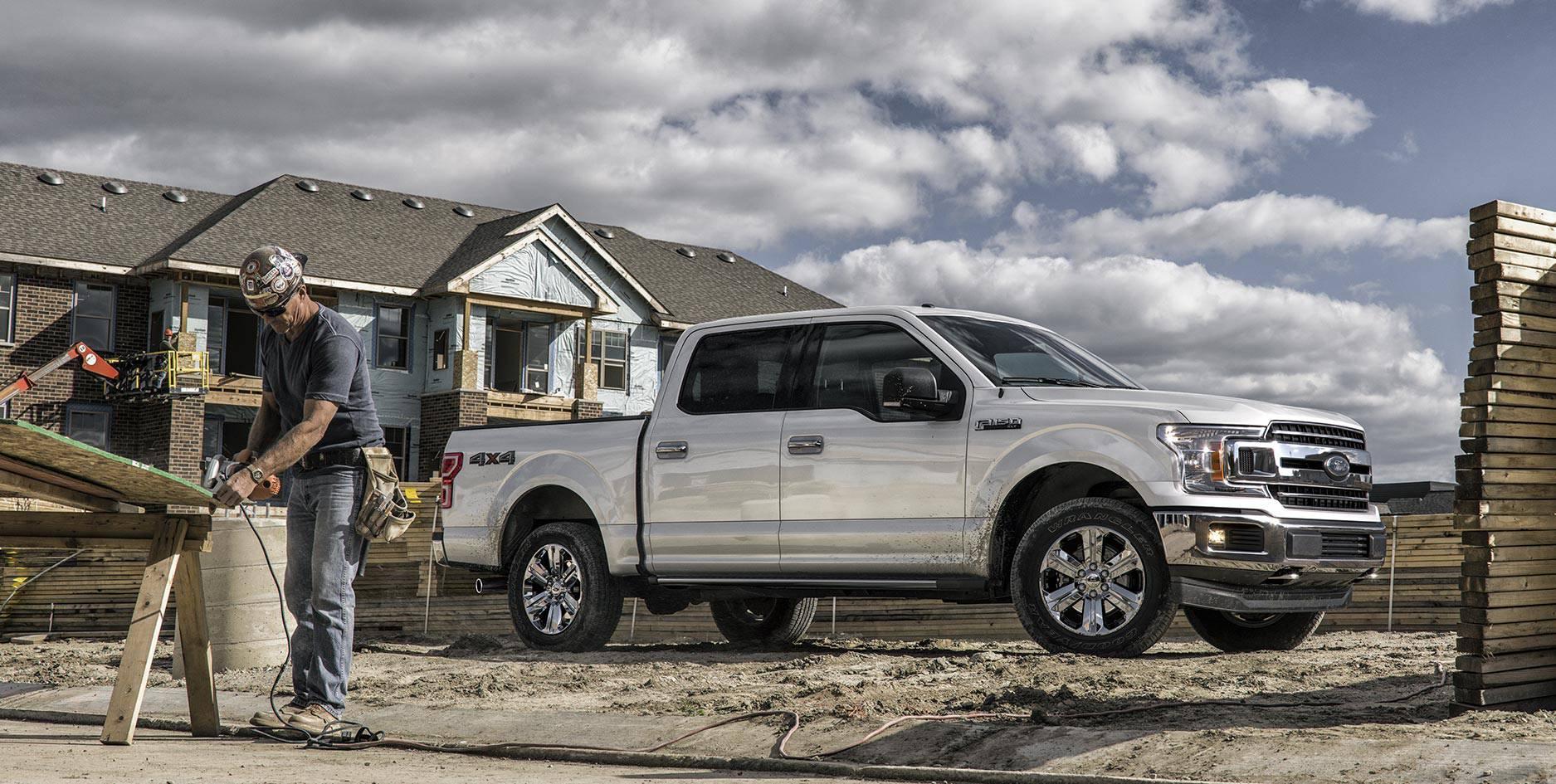 Ford рассекретил обновленный пикап F-150 1