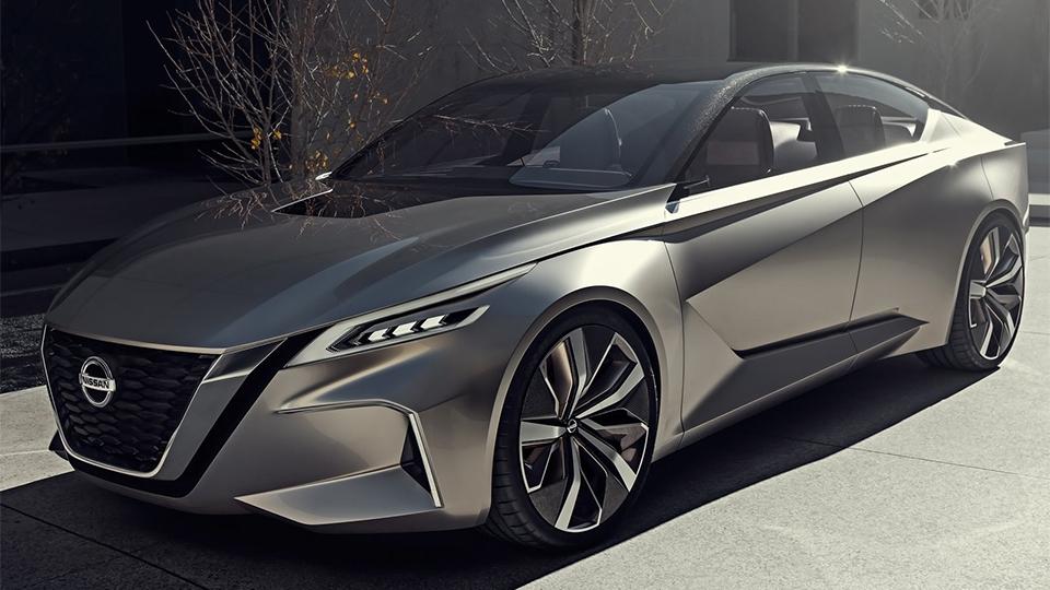Nissan показал дизайн новых седанов на прототипе 1