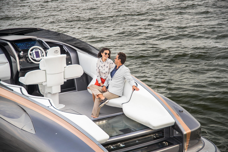 Lexus показал свою первую яхту 1