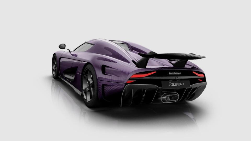 Koenigsegg посвятил супергибрид Regera Принсу 2