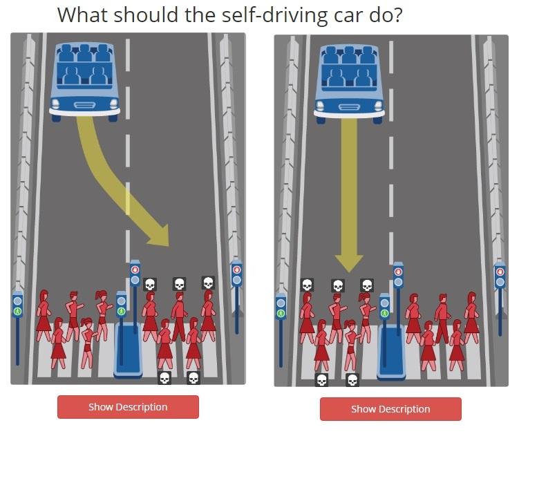 Ученые предложили выбрать, кого должен убить беспилотный автомобиль 2