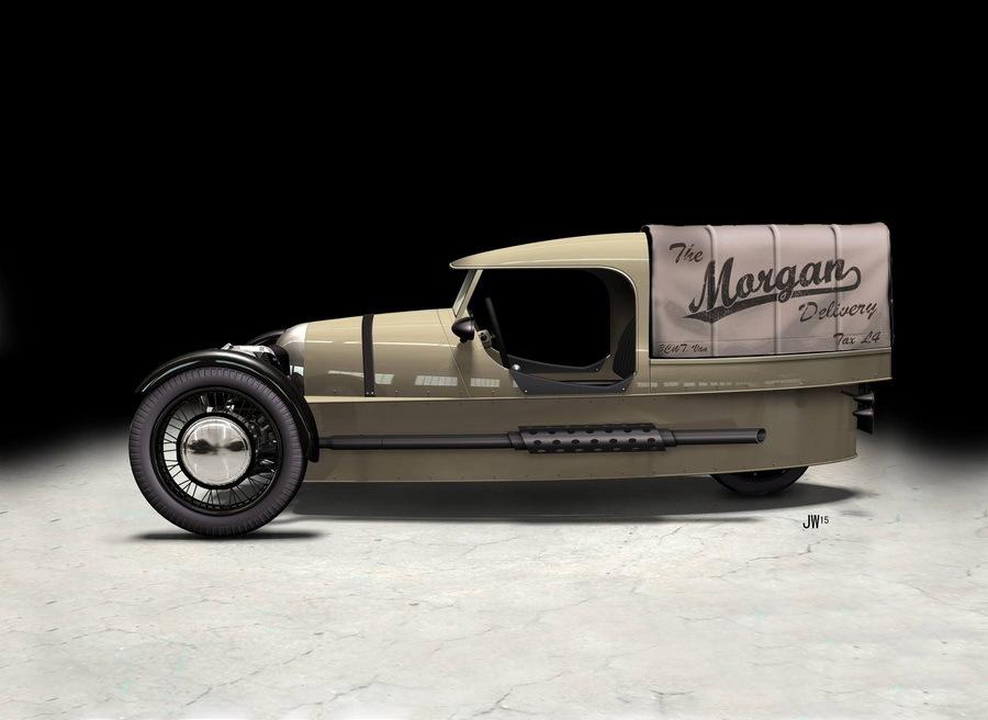 «Самый нелепый фургон»: англичане показали свою версию 1