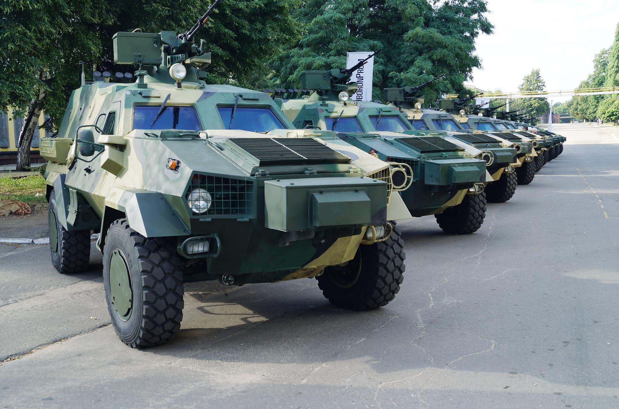 Выпуск первого украинского броневика придется остановить 1