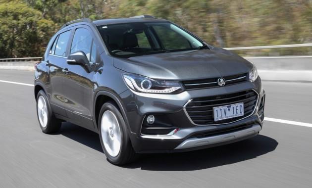 Обновлённый «паркетник» Holden выходит на рынок 1