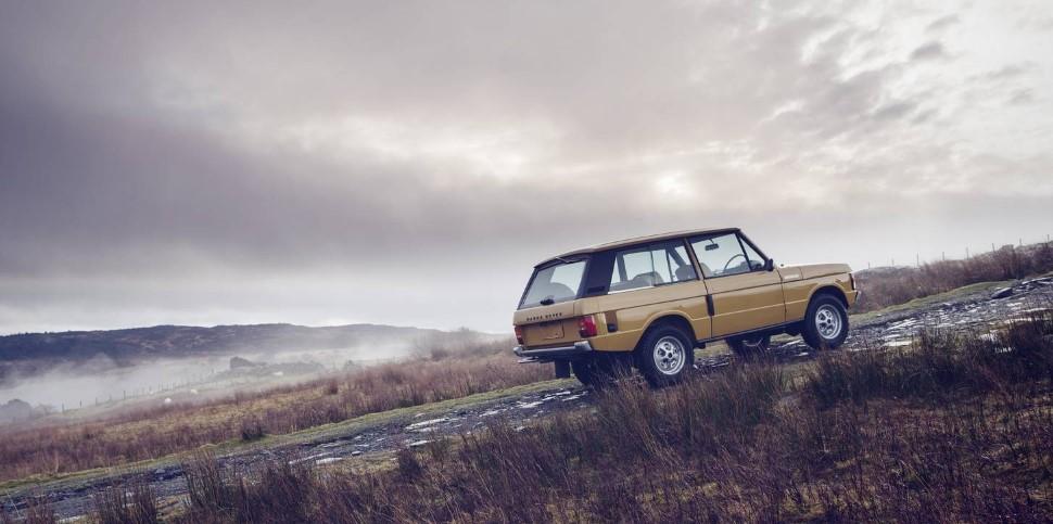 Land Rover возродил самый первый Range Rover 3