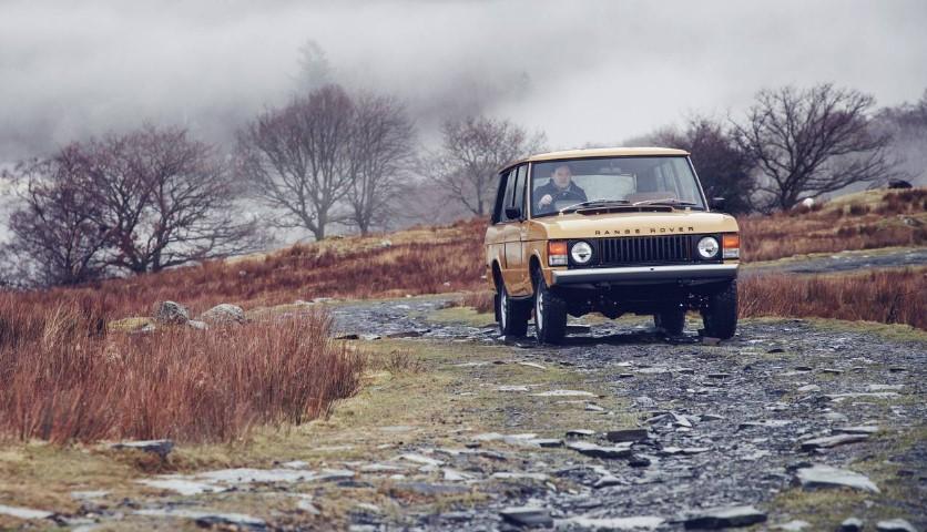 Land Rover возродил самый первый Range Rover 1