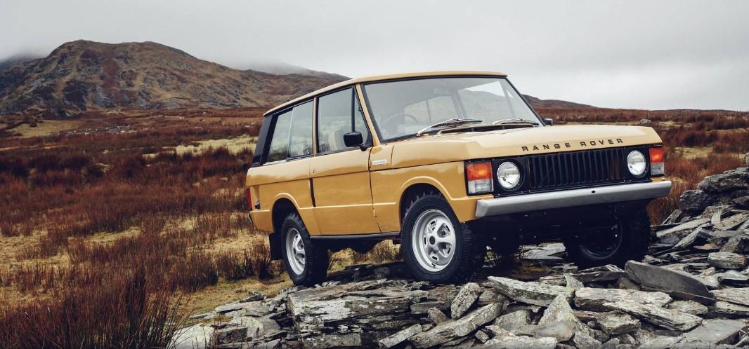 Land Rover возродил самый первый Range Rover 2
