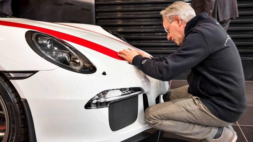 Основатель марки Pagani приобрел эксклюзивный Porsche 1