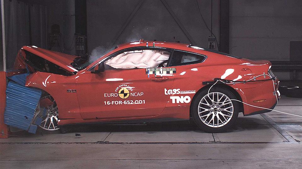 Ford Mustang провалил европейские краш-тесты 1