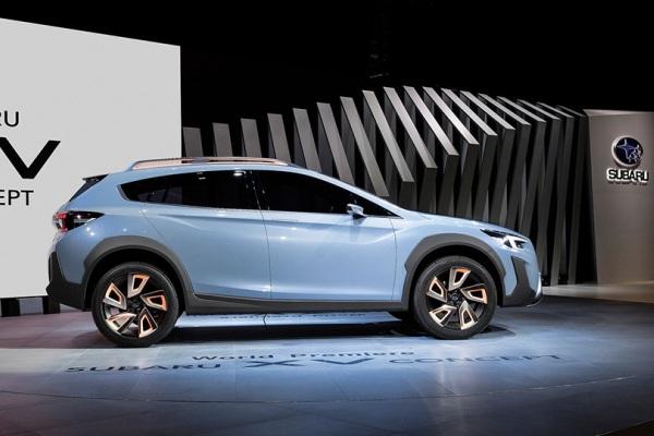 Subaru впервые показала новый XV 1