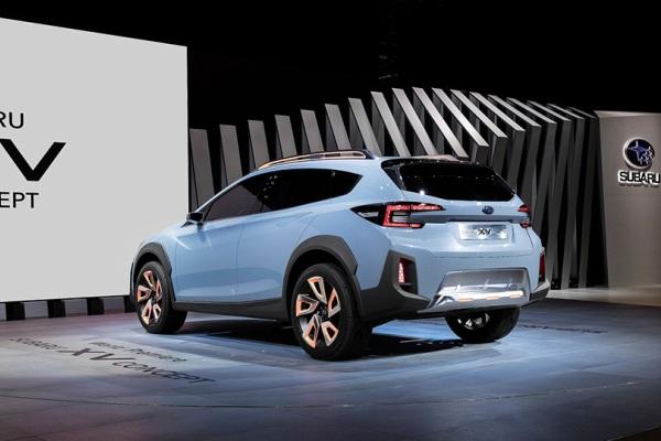 Subaru впервые показала новый XV 2