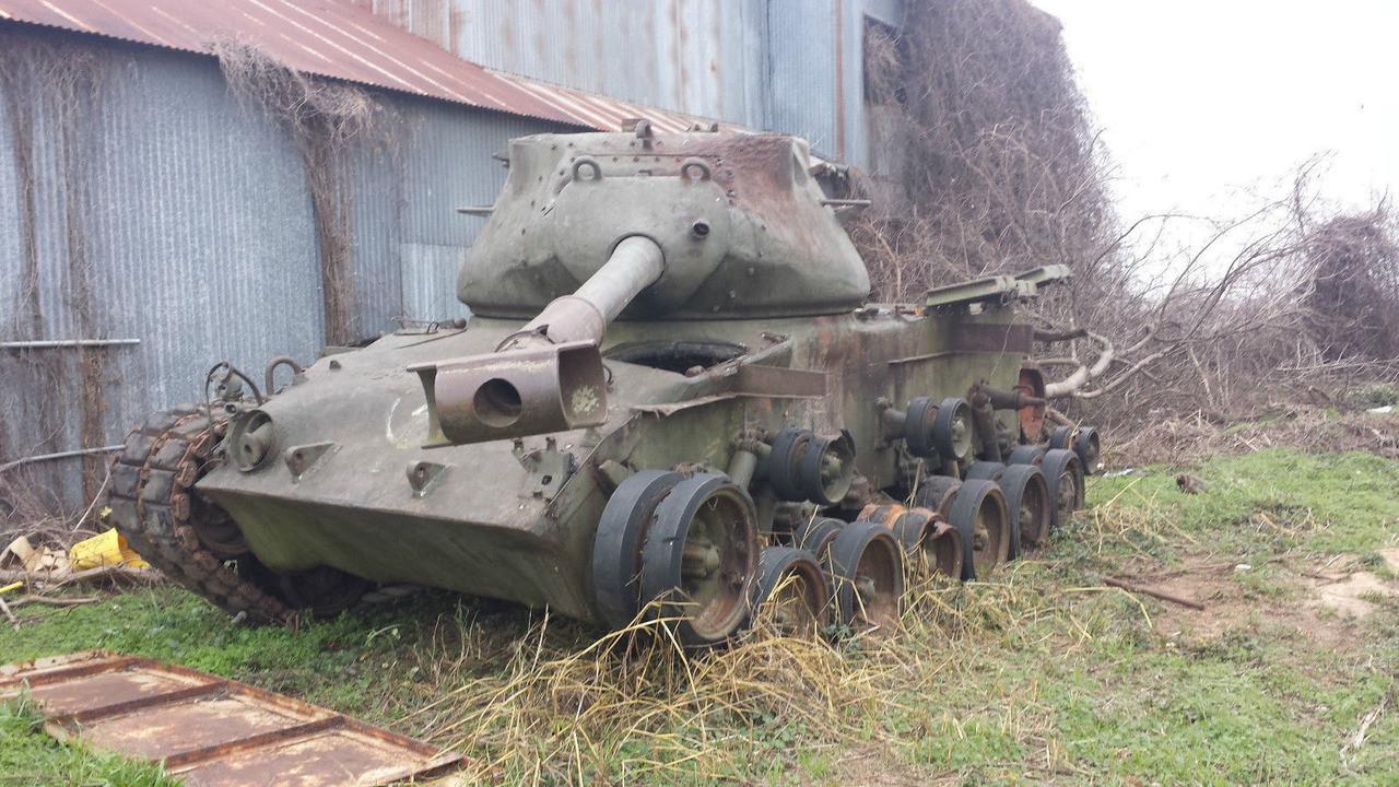 На аукцион выставили танк за $65 тыс 1