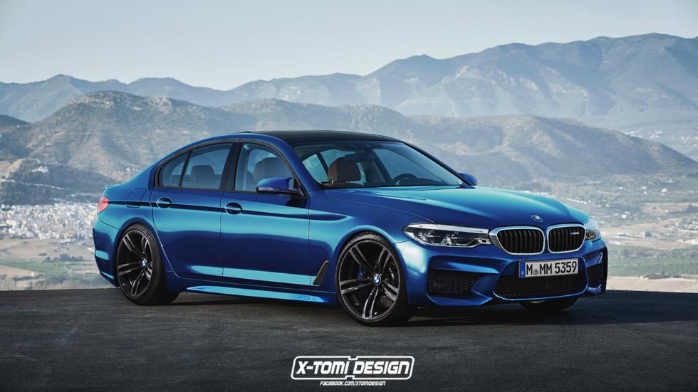 Новый BMW M5 будет соперничать с суперкарами 2