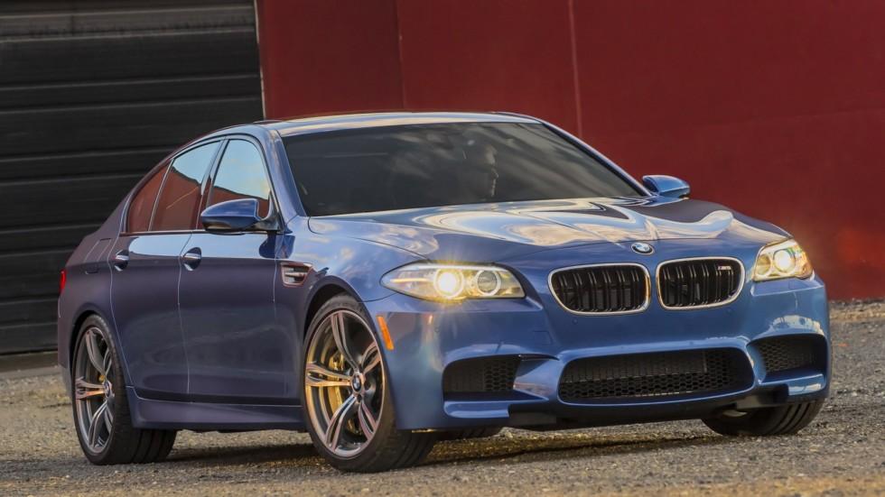 Новый BMW M5 будет соперничать с суперкарами 1