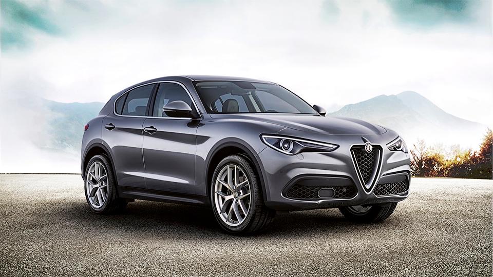 Alfa Romeo показала «слабый» кроссовер Stelvio 1