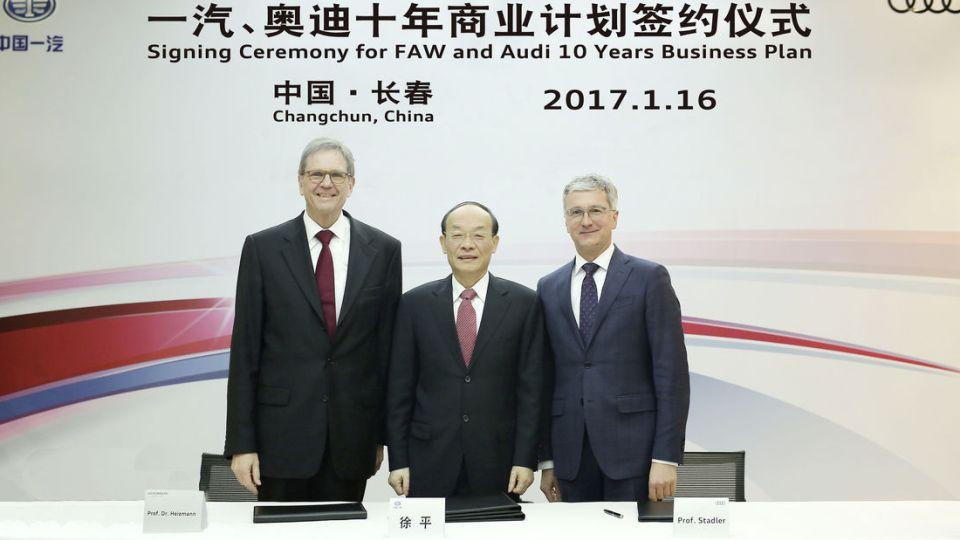 Audi займется производством электрокаров в Китае 1
