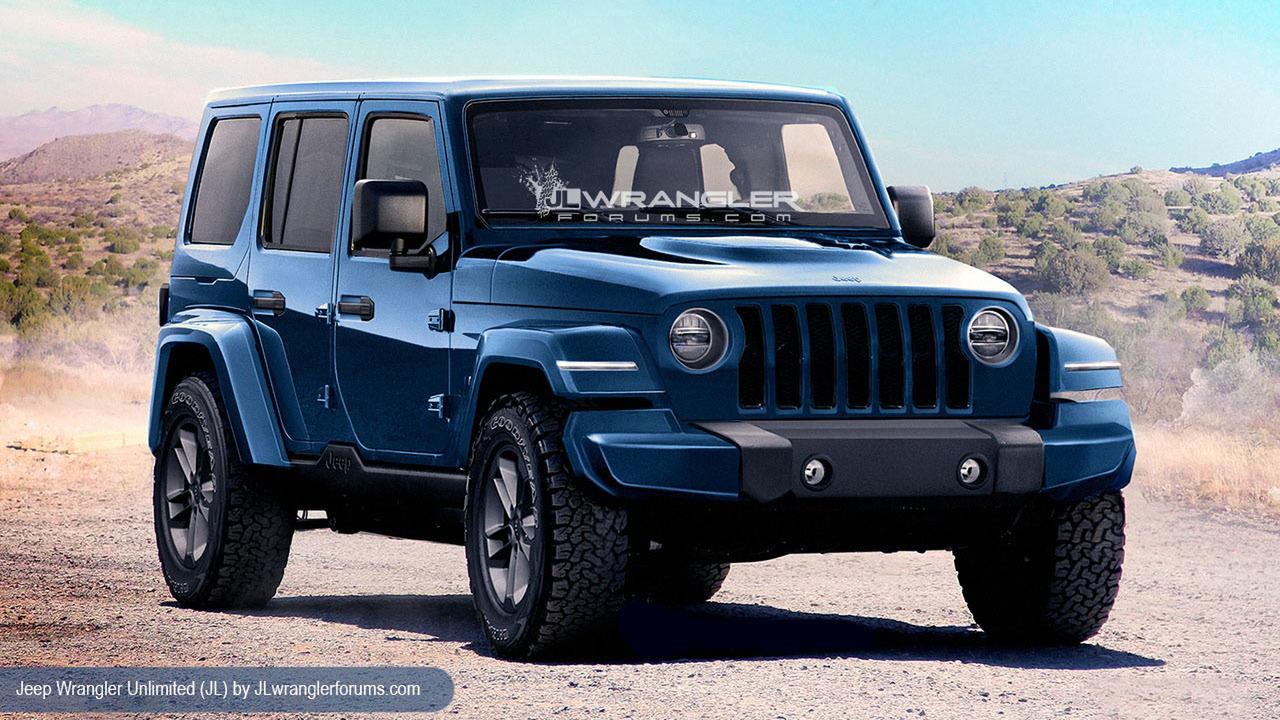 Объявлена дата дебюта нового Jeep Wrangler 1