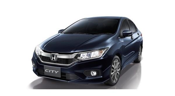 Honda показала обновленный седан City 1