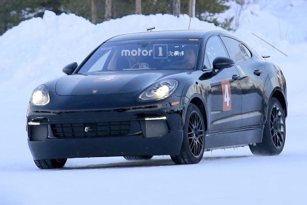 Porsche вывел на тесты электрический «Кайен» 1