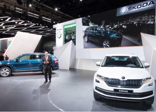 Skoda в 2016 году побила рекорд по продажам автомобилей 1