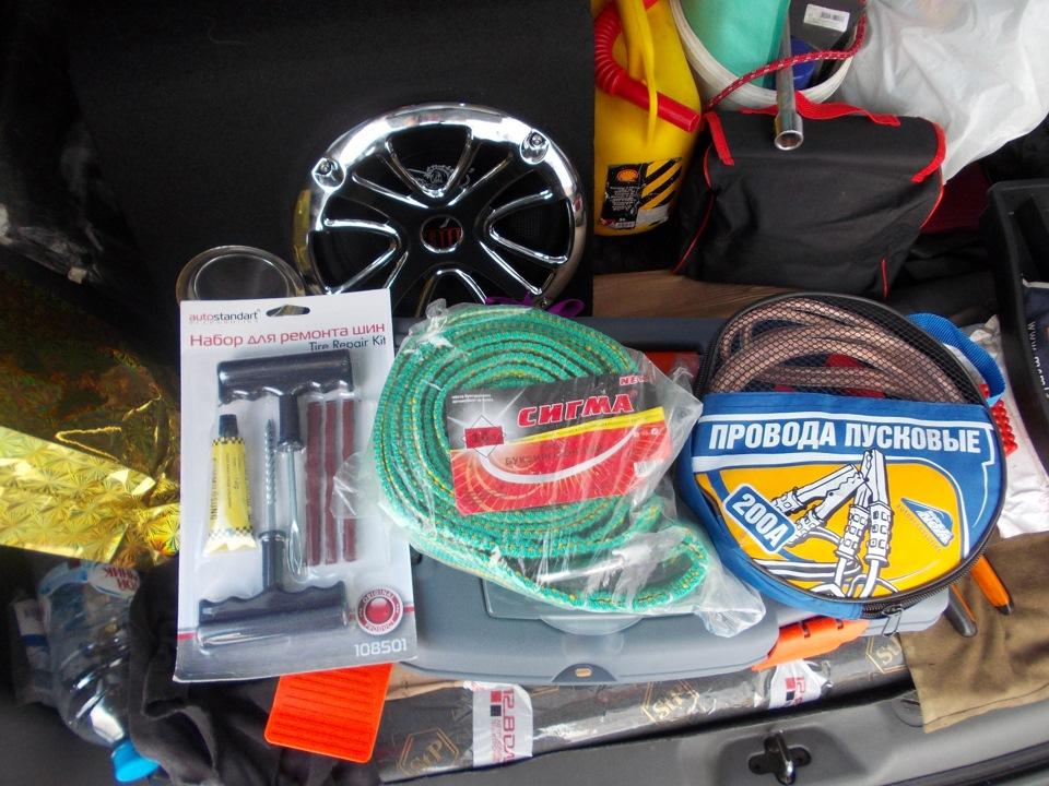Какие инструменты и запчасти всегда должны быть в машине 1