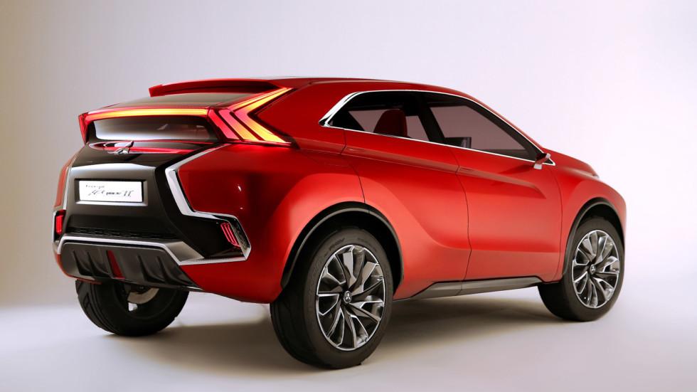 Mitsubishi представит конкурента Nissan Qashqai в марте 2