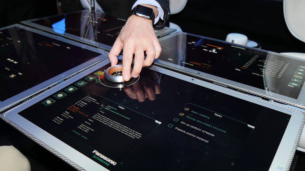 Panasonic представил своё видение кабины «беспилотников» 2