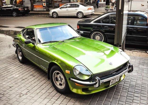 В Украине засветился уникальный спорткар из 70-х годов прошлого века 1
