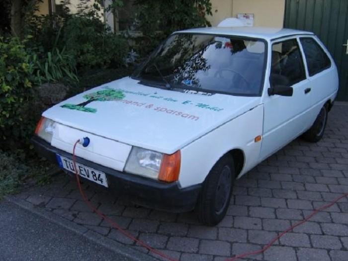 Как выглядит уникальная «Таврия», выпуск которой должен был проходить в Германии 1