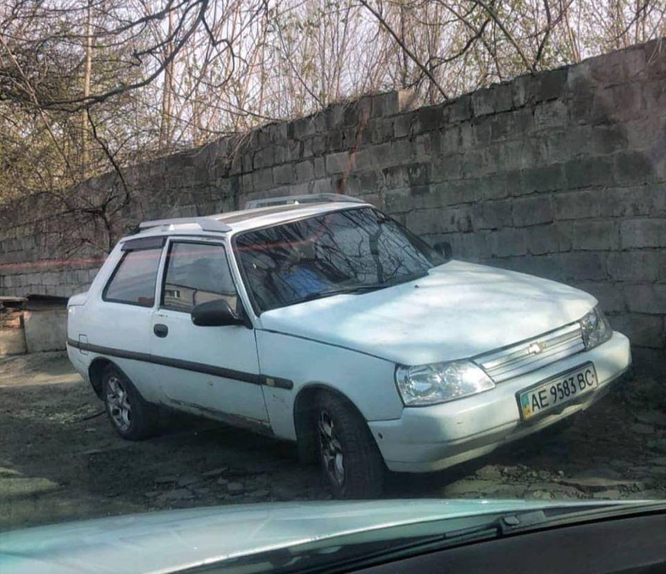 В Украине заметили единственную в своем роде «Таврию» в двухдверном кузове 1