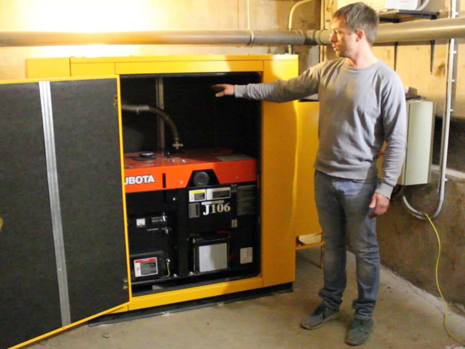 Установка генератора в гараж. Как все сделать правильно