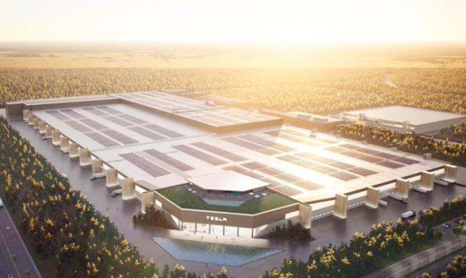 Илон Маск показал, как будет выглядеть завод Tesla в Германии 1