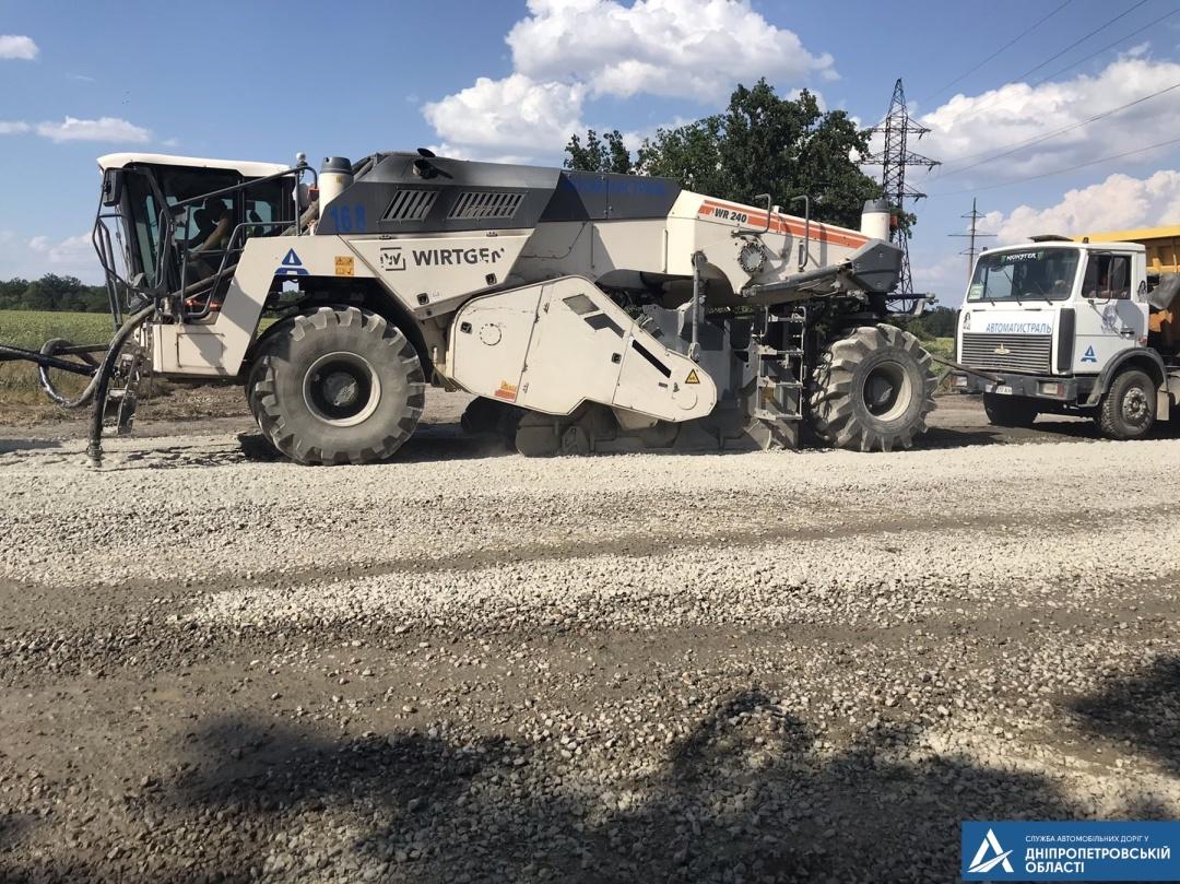 Стартовал ремонт худшей дороги Украины 1