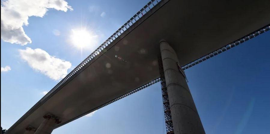 На месте обрушенного моста в Италии откроют новый 1