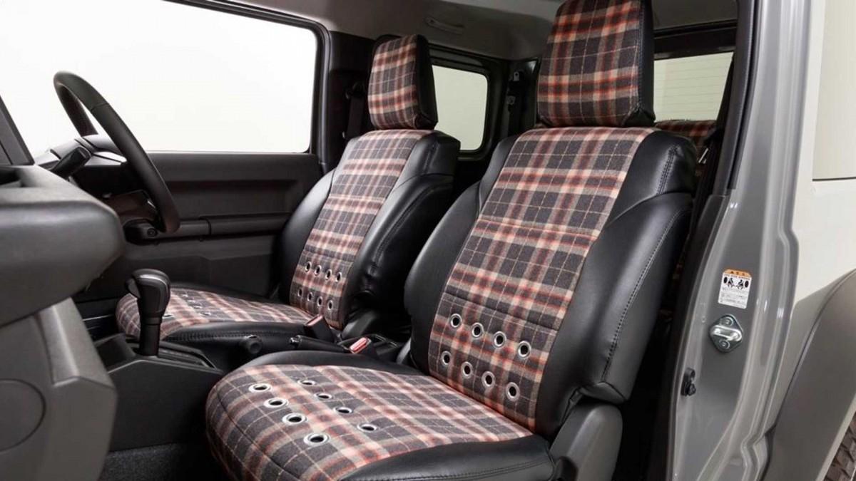 Из нового Suzuki Jimny сделали маленький Land Rover 2