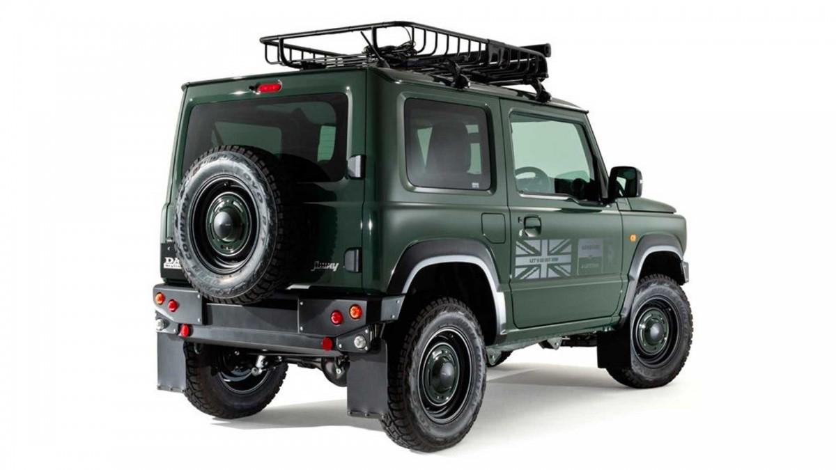 Из нового Suzuki Jimny сделали маленький Land Rover 1