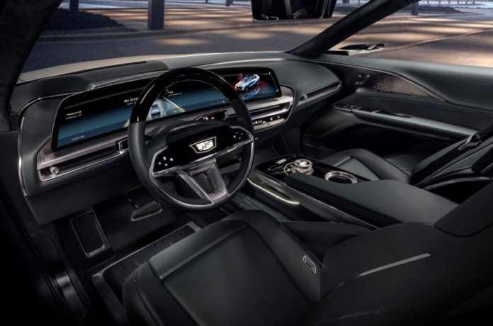 Cadillac представил свой первый электрокроссовер 1