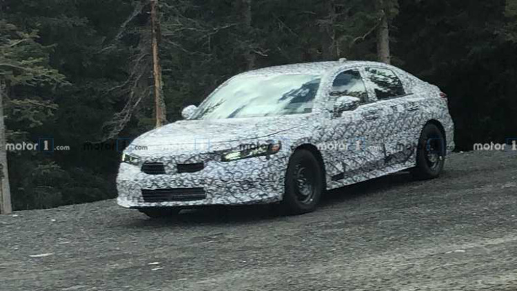 Новый Honda Civic засветился на тестах 1