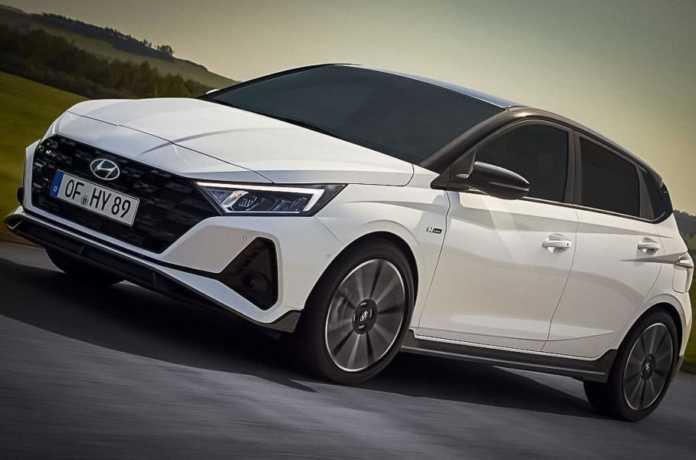 Hyundai показал «спортивный» вариант хэтчбека i20 1