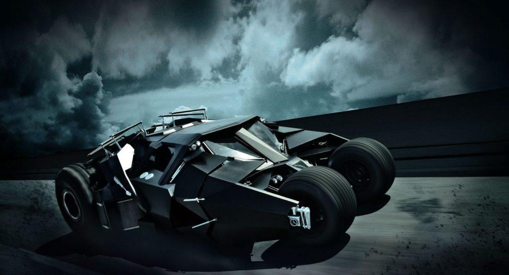 Студент собственноручно построил рабочий Бэтмобиль 1