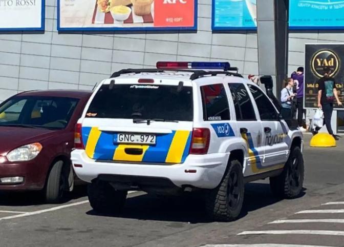 Украинская полиция пересела на «евробляхи» 1