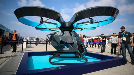 В Турции прошли успешные испытания летающего автомобиля 1