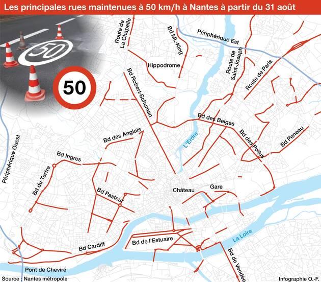 Во французском городе ограничат скорость движения до 30 километров в час 1